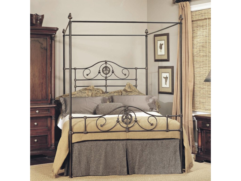 Old Biscayne Designs Custom Design Iron and Metal Beds Roget Canopy Bed. Custom Design Iron and Metal Beds  metal  by Old Biscayne Designs