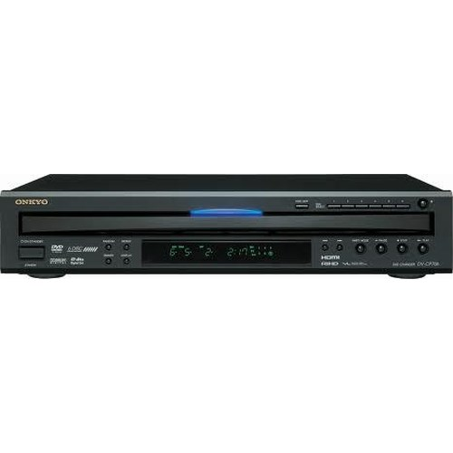 Onkyo Blu-Ray and DVD Players 6 Disc DVD Changer with 1080p Upscaling