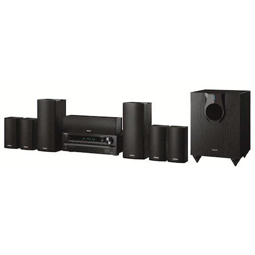 Onkyo Home Theater Systems 7.1 Channel 1,030 Watt Home Theater Package w/USB for iPod®/iPhone®