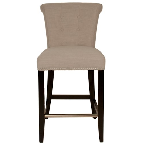 Orient Express Furniture Regency Luxe Counter Stool