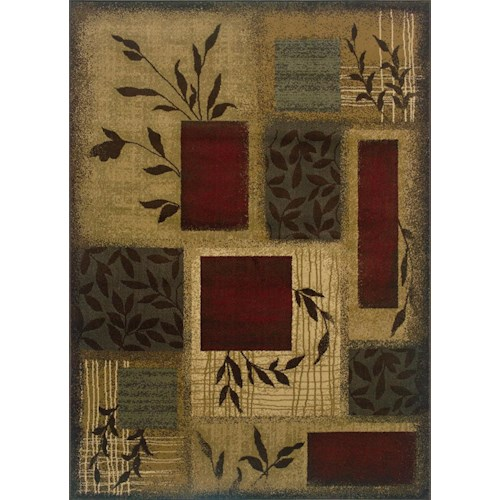 Oriental Weavers Amy 8.2 X 10 Area Rug : Multi
