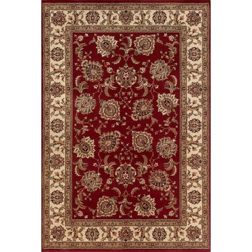 Oriental Weavers Aspire 10 x 12.7 Area Rug : Red