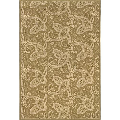 Oriental Weavers Aspire 10 x 13 Area Rug : Gold