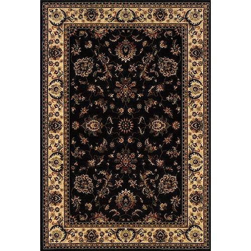 Oriental Weavers Aspire 7.10 x 11.2 Area Rug : Black
