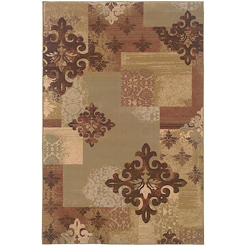 Oriental Weavers Genre 4' X  6' Rug
