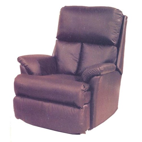 Ort Manufacturing Leathermate Chaise Wall Recliner