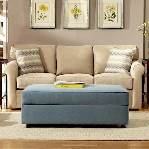 Warehouse M 48 Frame Casual Contemporary Full Sleeper Sofa
