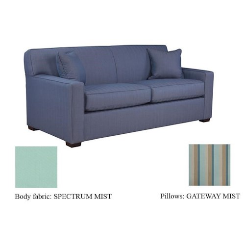Warehouse M 59 Frame Queen Sofa Sleeper with Tight Arms