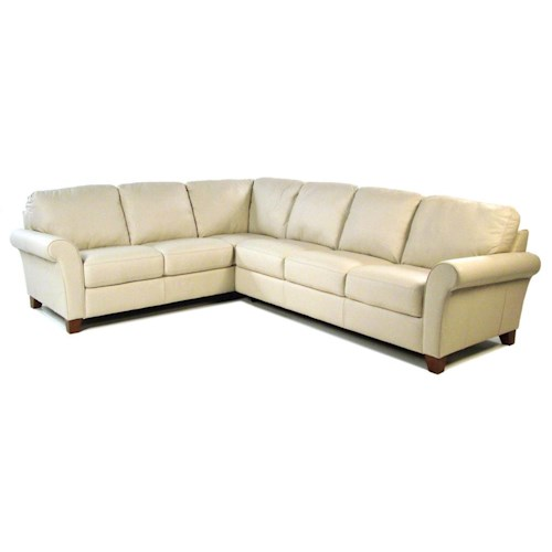 Palliser Sonesta 2 Piece Leather Sectional