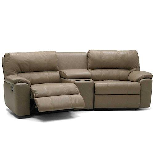 Palliser Yale 41059 Reclining Two Seat Entertainment Sofa