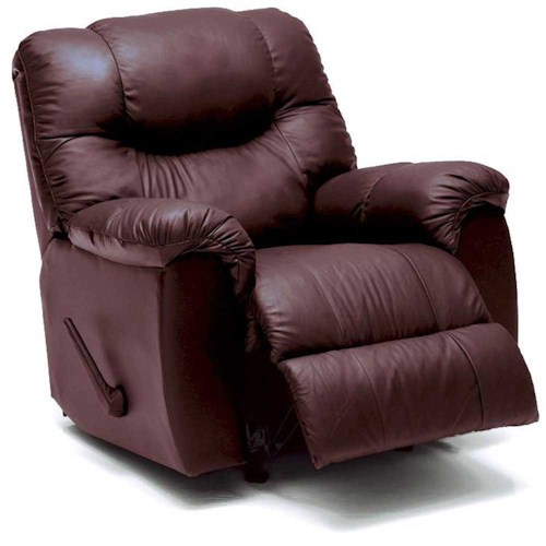 Palliser Regent Casual Rocking Recliner with Bustle Back