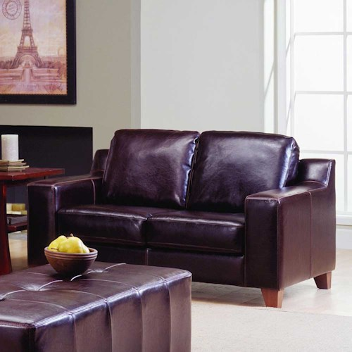 Palliser Reed 77289 Two Cushion Loveseat