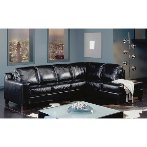 Palliser Reed 77289 Chaise Corner Sectional