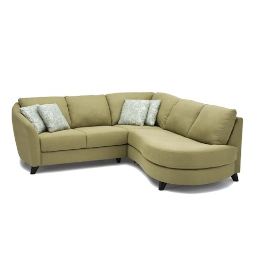 Palliser Alula 70427 Sectional Sofa with Love Seat and Chaise