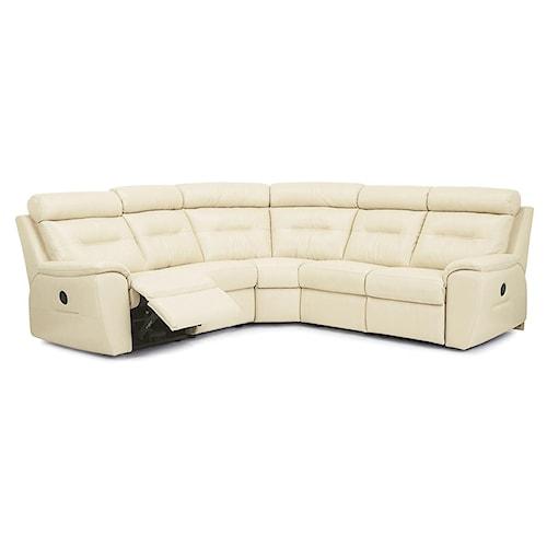 Palliser Arlington Traditional Reclining Sectional Sofa