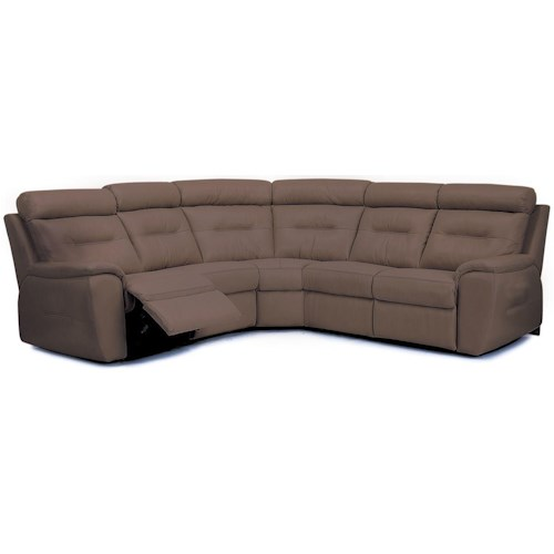 Palliser Arlington Traditional Reclining Sectional Sofa