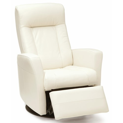 Palliser Banff Power Swivel Glider Recliner with Defined Headrest and Track Arms