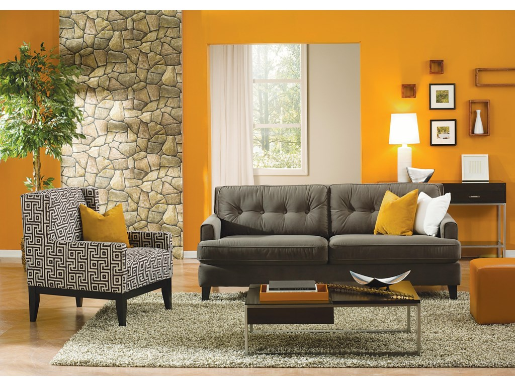 Shown with Accent Sofa