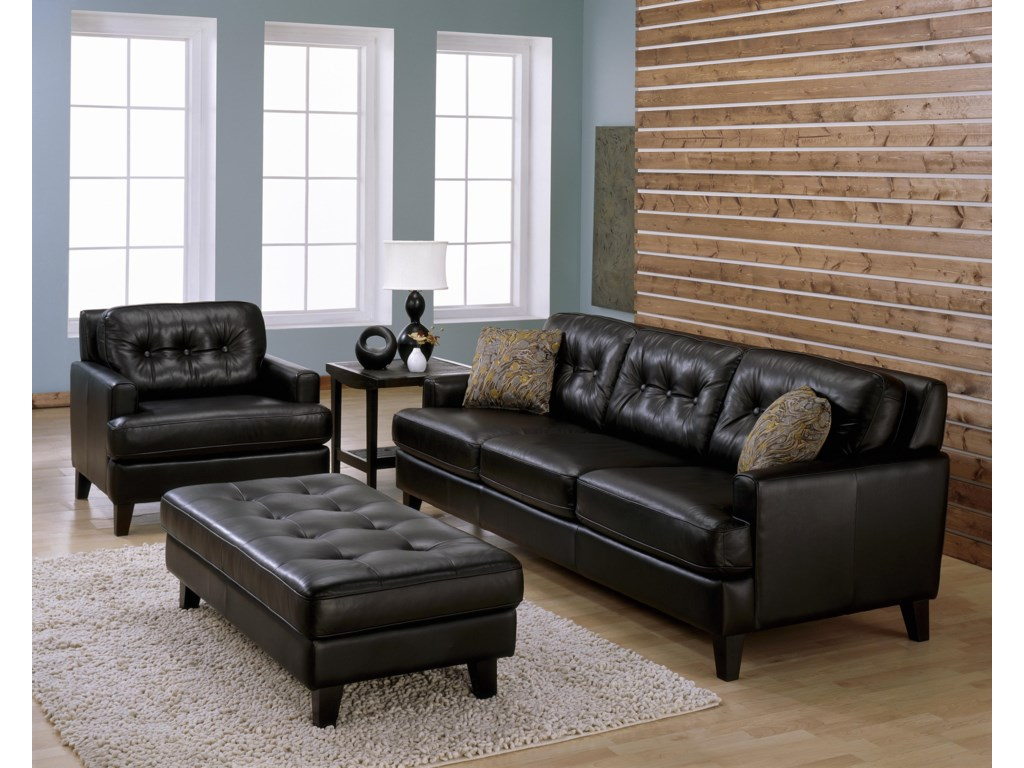 Shown with Ottoman and Sofa