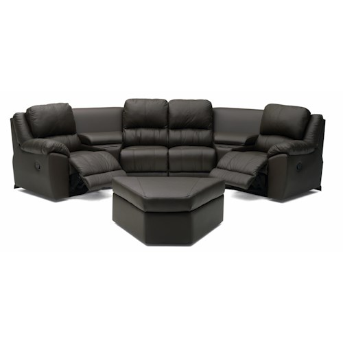 Palliser Benson 41164 Two Chair Reclining Sectional