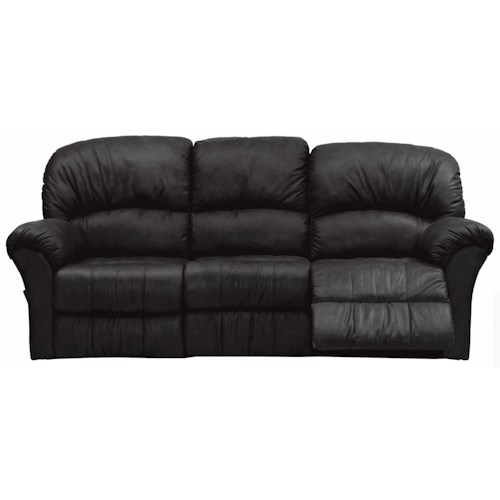 Palliser Callahan Casual Sofa Recliner with Flared Pillow Arm
