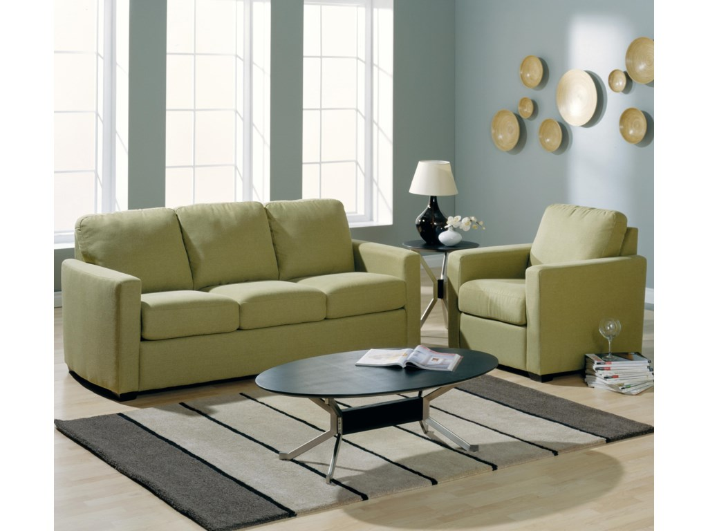 Shown with Coordianting Collection Chair. Sofa Shown May Not Represent Exact Features Indicated.