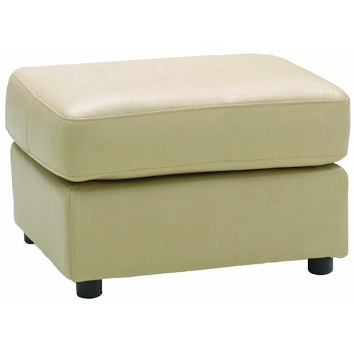 Palliser Cato Contemporary Small Square Ottoman