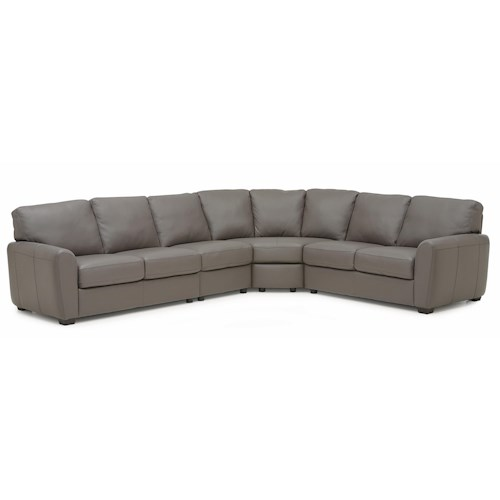 Palliser Connecticut Contemporary Sectional Sofa