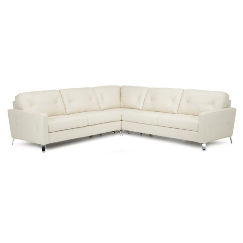 Palliser Dot Three Piece Corner Sectional Sofa