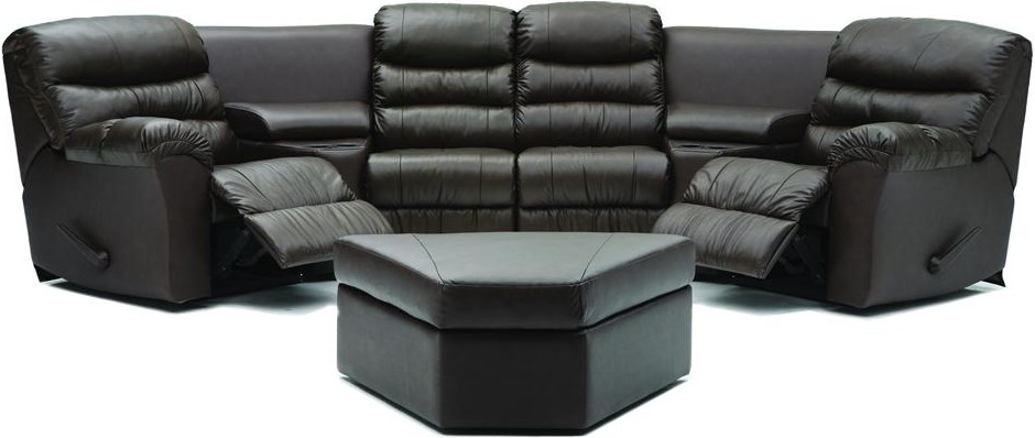Shown with Corner Home Theater Seating Configuration E