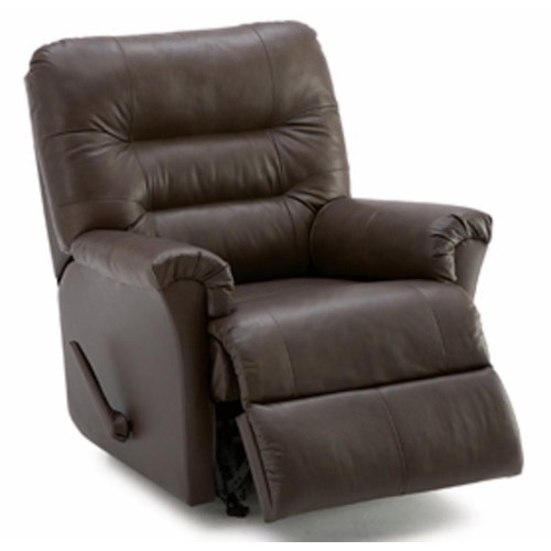 Palliser Fiesta Wallhugger Recliner with Channel-Tufted Back