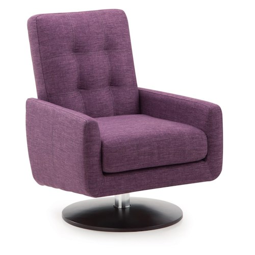 Palliser Halifax Contemporary Swivel Chair
