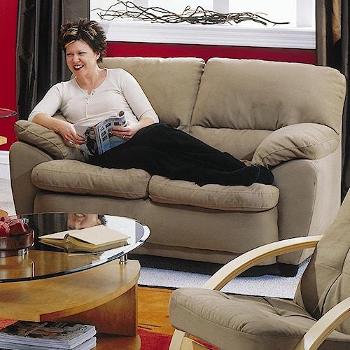 Palliser Harley Casual Upholstered Love Seat