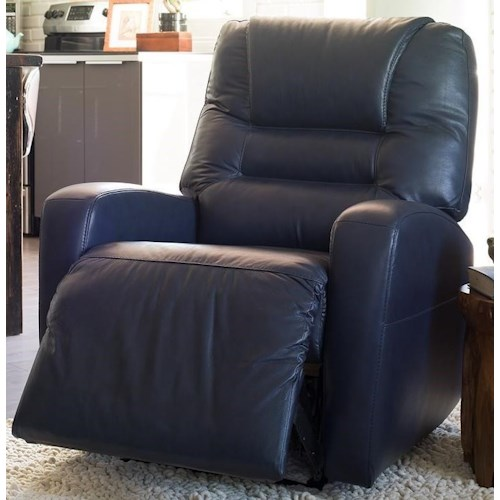 Palliser Highwood Contemporary Power Rocker Recliner with Track Arms
