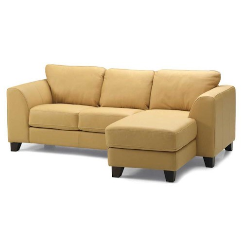 Palliser Juno Elements 77094 Three Seat Right Facing Chaise Sofa