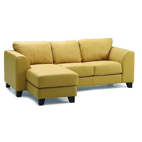 Palliser Juno Elements 77094 Three Seat Left Facing Chaise Sofa