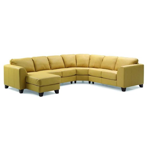 Palliser Juno Elements 77494 Right Arm Facing Corner Chaise Sectional