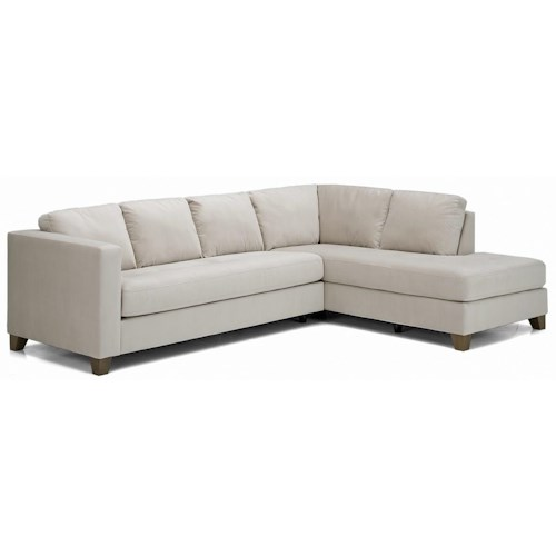 Palliser Jura  Contemporary Sectional Sofa with Chaise