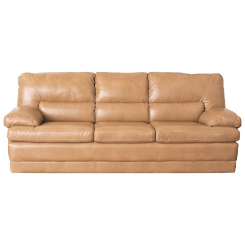 Palliser Northbrook Contemporary Sofa w/ Pillow Arms