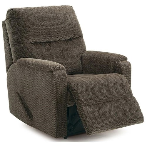 Palliser Northlands Casual Rocker Recliner with Padded Track Arms