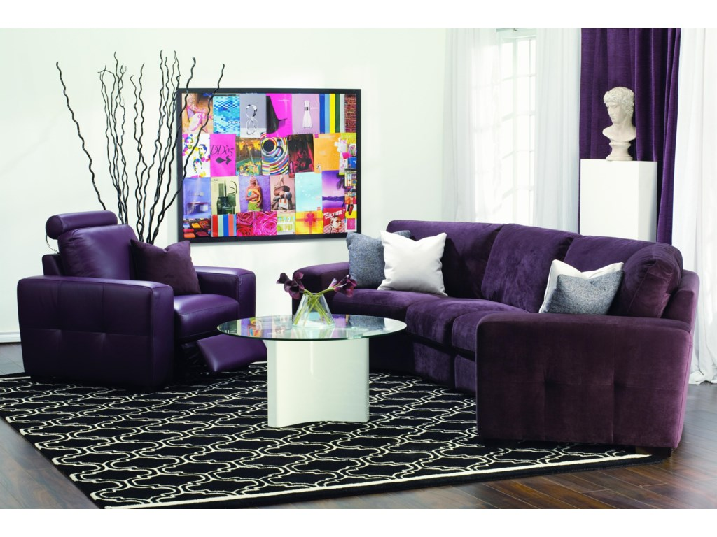 Shown with Leather Reclining Chair