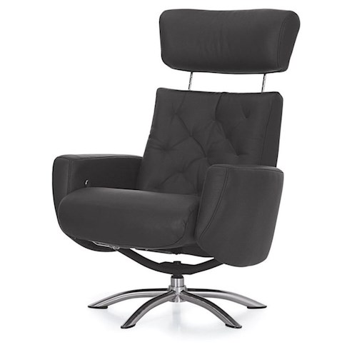 Palliser Quantum Contemporary Reclining Chair with Adjustable Headrest