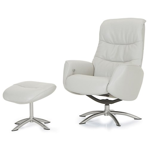 Palliser Quantum Contemporary Reclining Chair and Ottoman with – Reclining Chairs with Ottomans