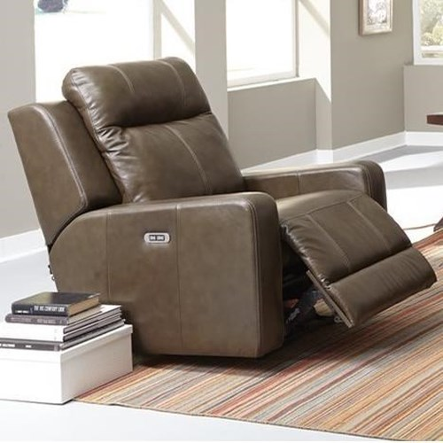 Palliser Redwood Contemporary Power Rocker Recliner with Track Arms