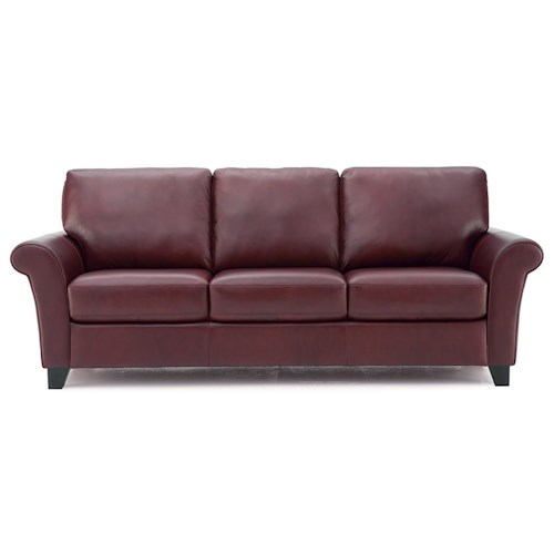 Palliser Rosebank Transitional Sofa with Flared Arms