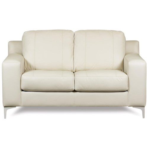 Palliser Sonora Loveseat w/ Tapered Legs