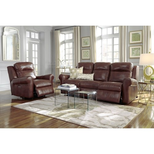 Palliser Vega Power Reclining Living Room Group