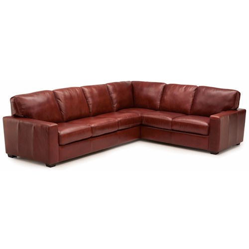 Palliser Westend Contemporary 2 pc. Sectional with RHF Sofa Split