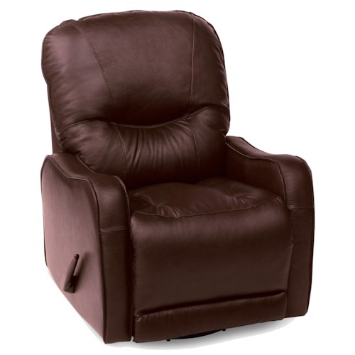 Palliser Yates  Casual Rocker Recliner with Sloped Track Arms