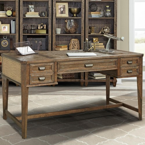 Parker House Aberdeen Writing Desk with Trestle Base